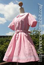 らびっと学園の盛夏服(半袖)・ピンク